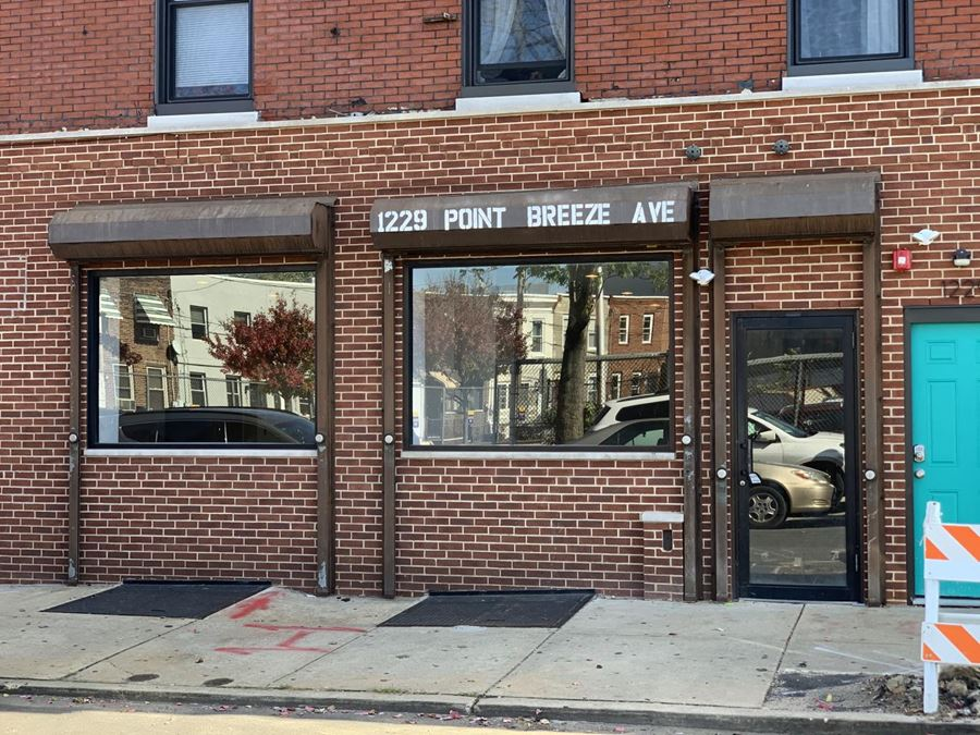 Retail Space in the Heart of Point Breeze