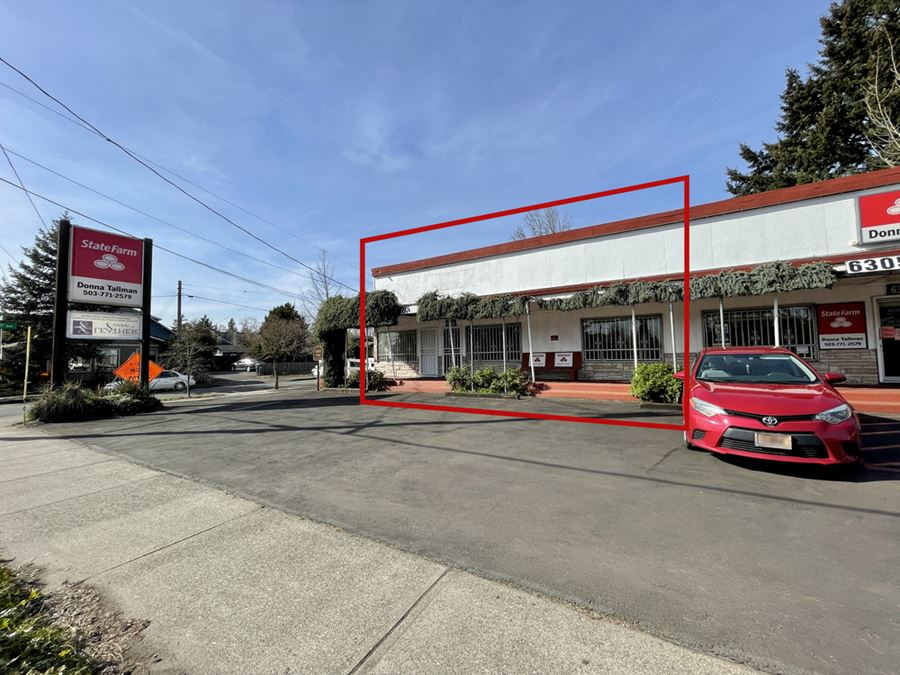 Lease Opportunity on Busy Powell Blvd.