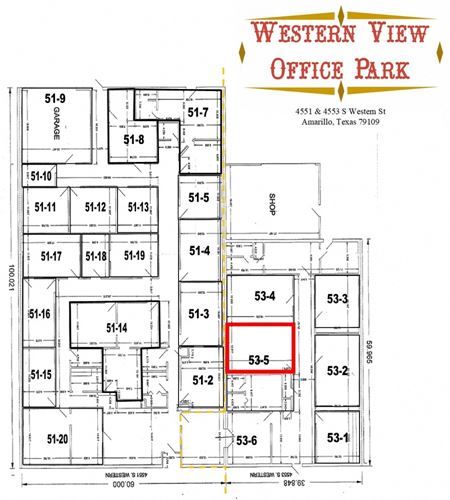 Western View Office Park 4551 - 4557 S Western - Amarillo