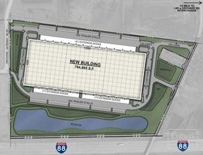 282,616 SF available for lease in new construction warehouse
