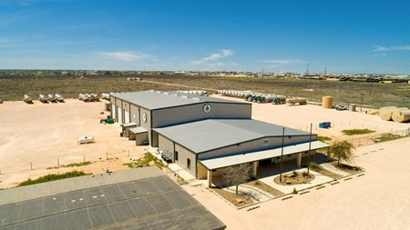 14,000 SF of Industrial Space on 20 Acres - Odessa
