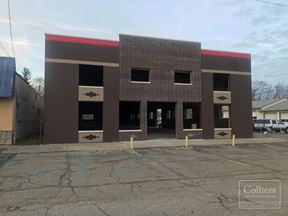 For Lease or Sale > Historic Stand Alone Facility in Genesee Township / Flint MI 13,000 SF