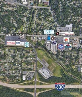 For Lease; 8601 W Markham St