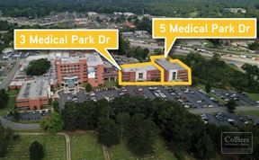 For Lease: 3 & 5 Medical Park Drive - Benton