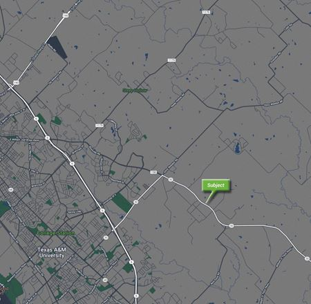 1.83 AC AT THE NW CORNER OF HWY 30 & WINDING CREEK RD  - College Station