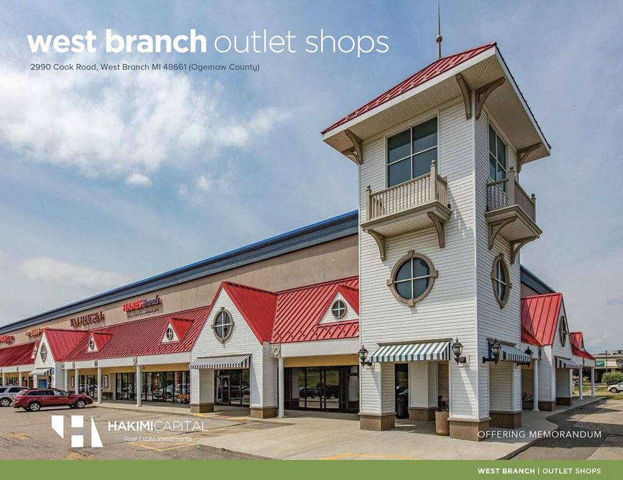 West Branch Outlet Shops