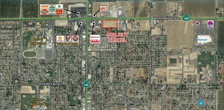 Adjacent Pads Available for Ground Lease or Purchase - Kerman