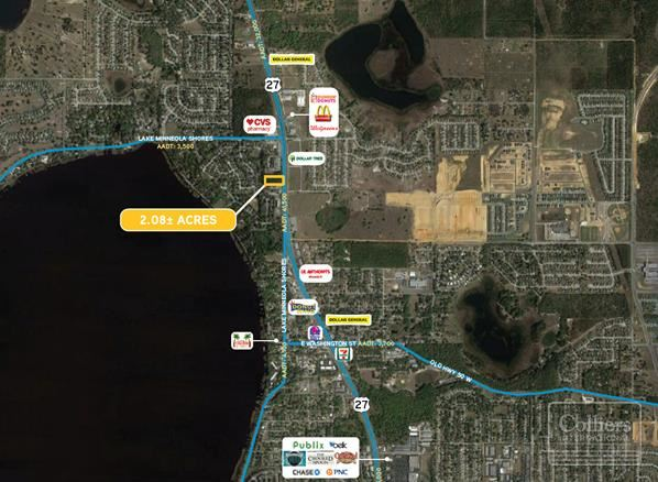 2.08± Acres Commercial | Minneola