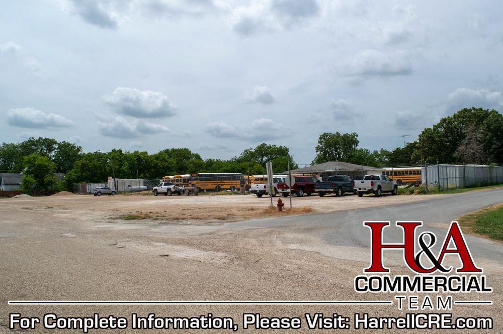 Former Mart ISD Bus Parking Lot