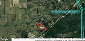 Price Reduction 33.31 Acres of Land with Industrial Building on Hwy 90