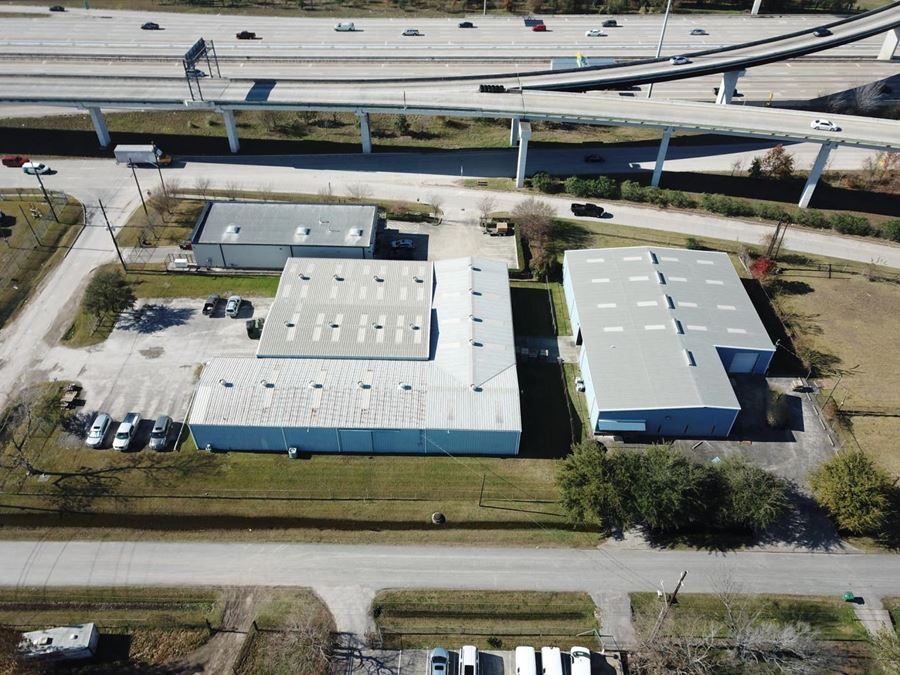 REDUCED! 2.08 Acres of Land with 2 Office/Warehouse Buildings in Humble