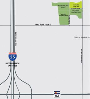 I-25 & Town of Frederick Industrial/Commercial Lots
