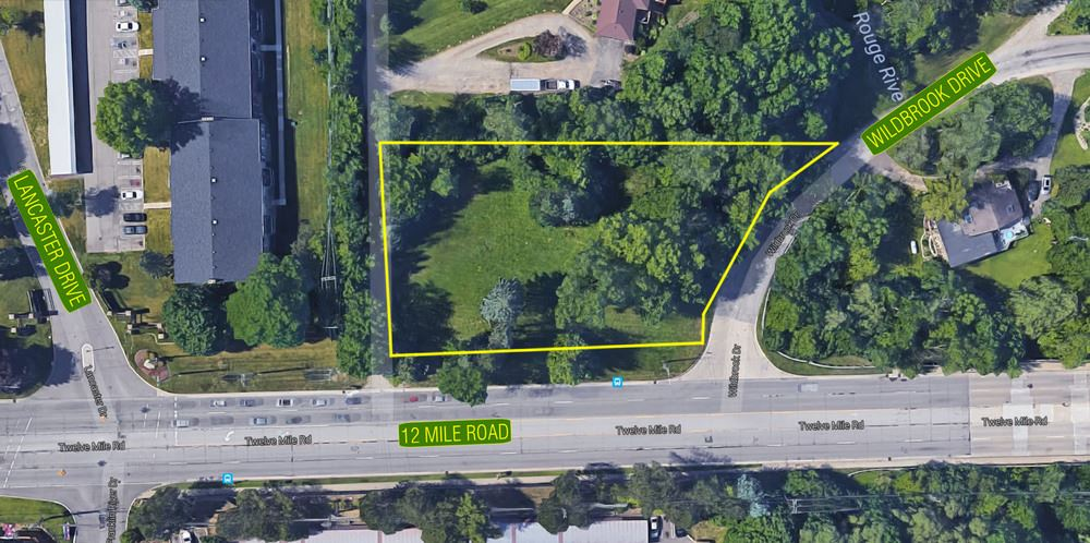 1.11 Acre Site on 12 Mile Road