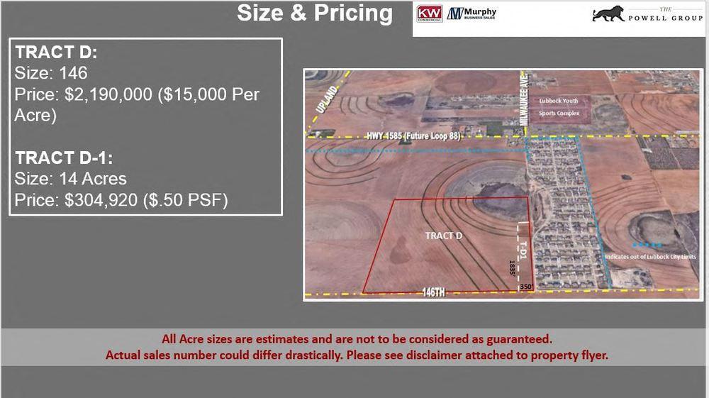 160 Acres of Development Land
