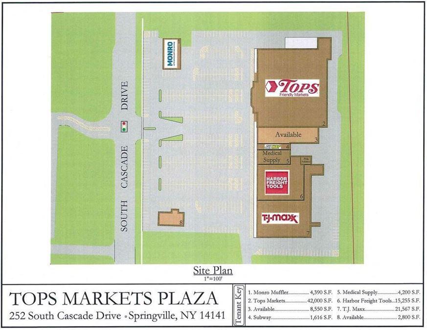 Tops Markets Springville Plaza & Restaurant
