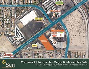 North Las Vegas Boulevard Commercial Land - North Las Vegas