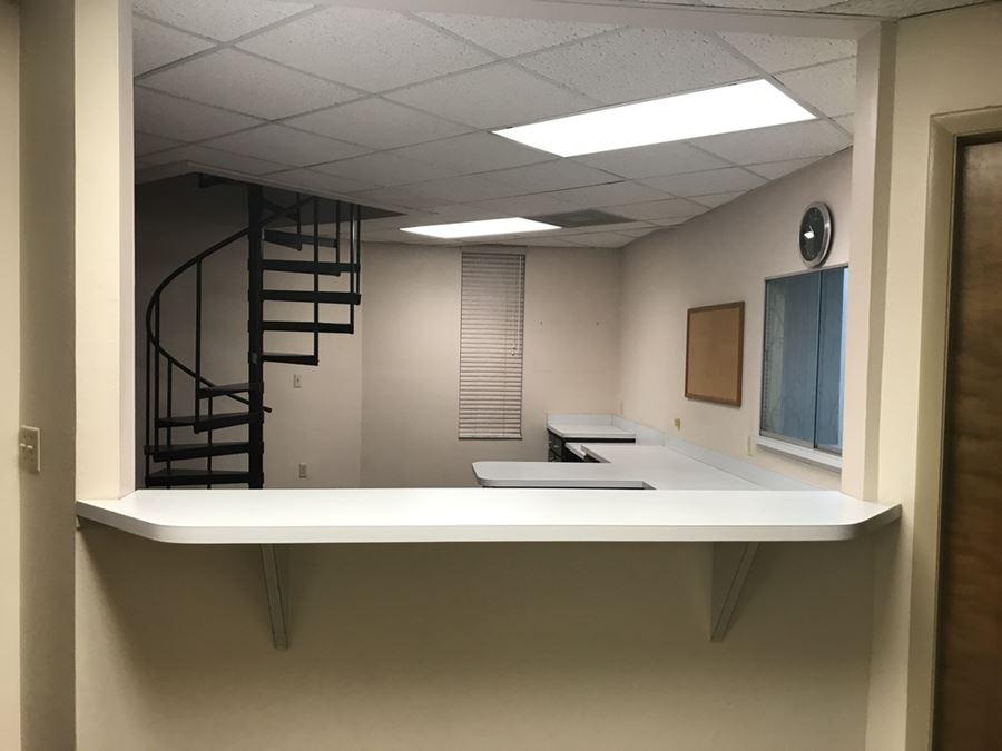 Traditional Medical Office in St. Joseph's Hospital Corridor