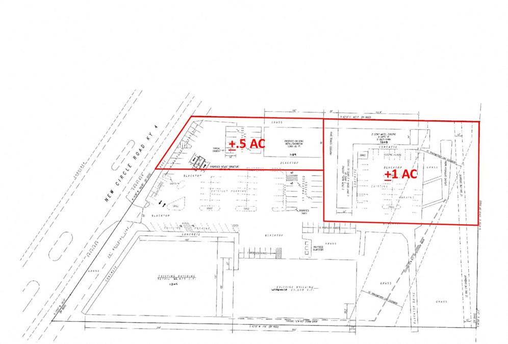 B-3 Zoned Retail lots