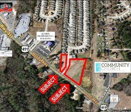 2.5 Acres on Hwy. 411 in Moody - Moody