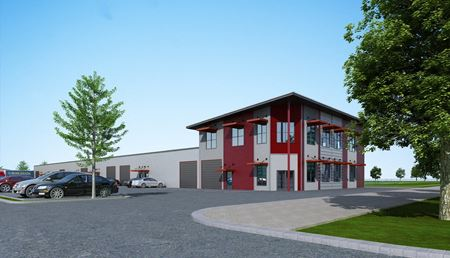 Rhodes Meadow Business Park - Spring