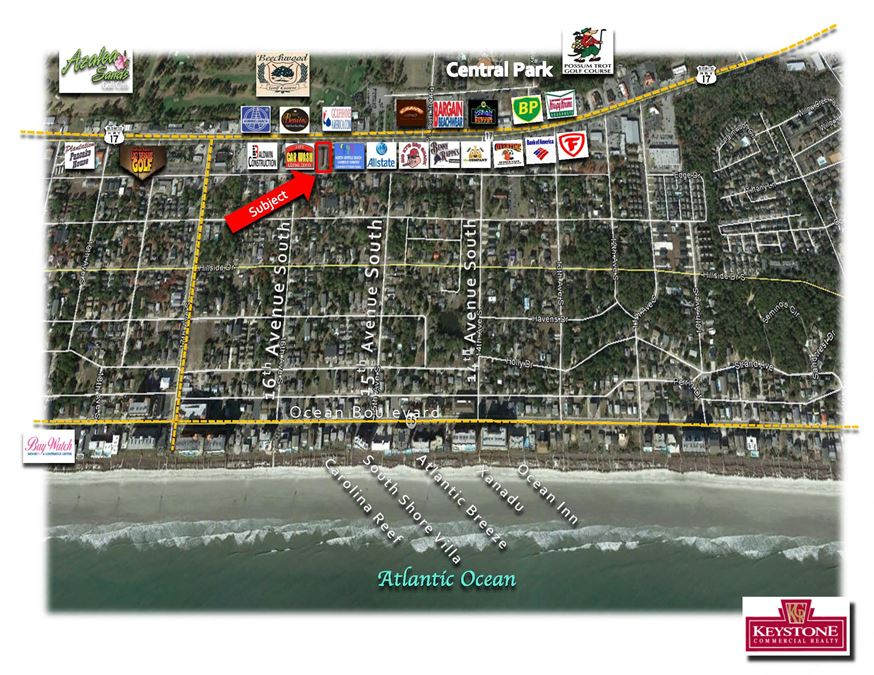 Scoggins Tract-.40 Acres-Land For Lease-Myrtle Beach, SC by Keystone Commercial Realty