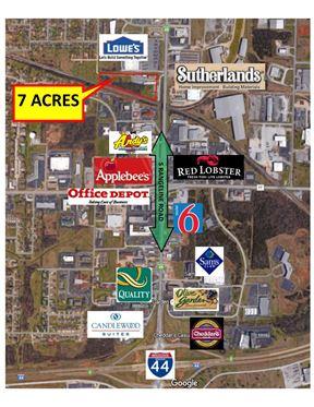 4.3  acres on Rangeline in Joplin ($3 / Sq Ft) - Joplin
