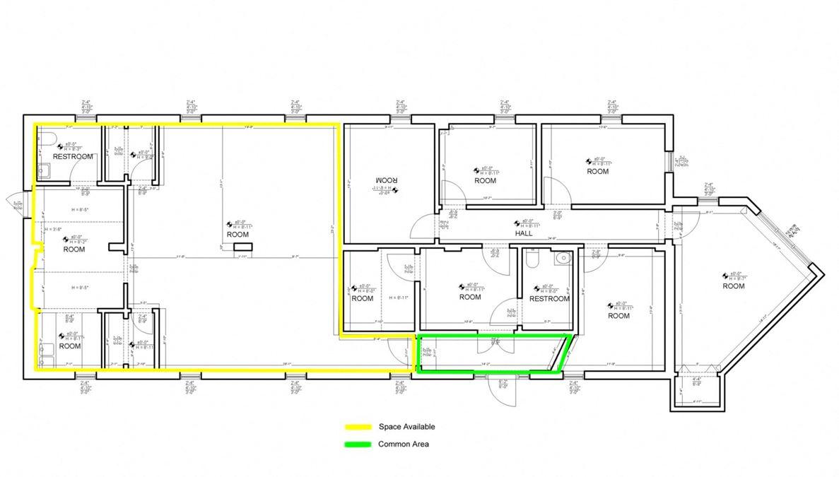 Westbury Park Office Suite For Lease