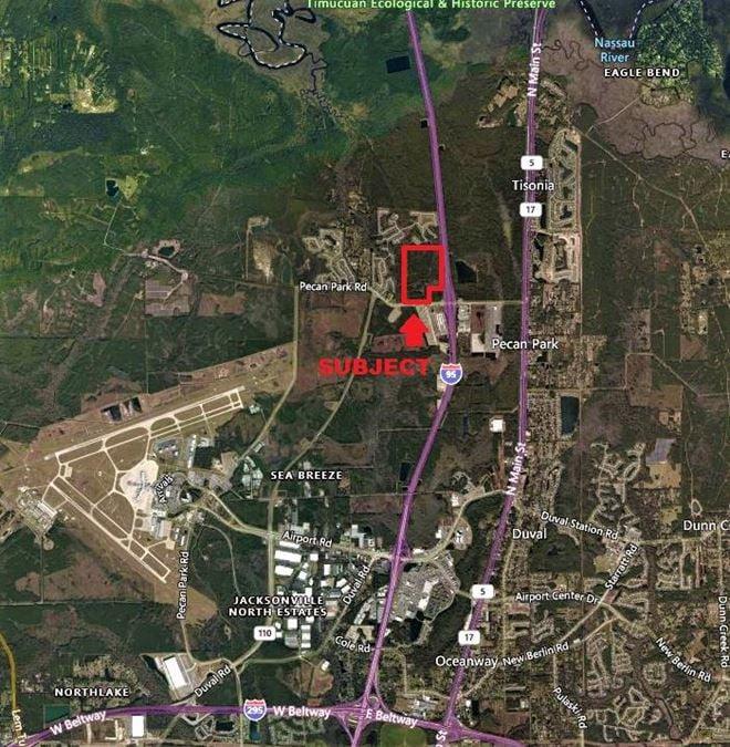 113 AC Development Opportunity - I-95 & Pecan Park Rd