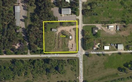 2.11 Acres of Land on Cypress Rosehill Road in Tomball - Tomball
