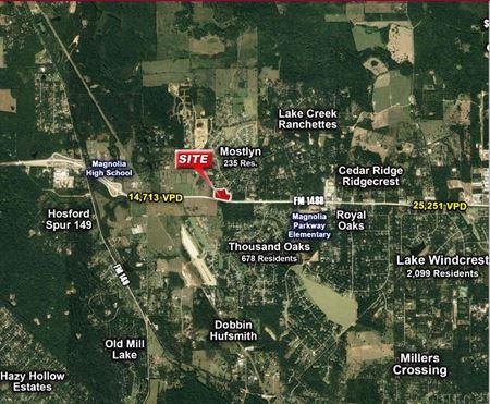 FM 1488 & Mostyn Drive - Decker Prairie