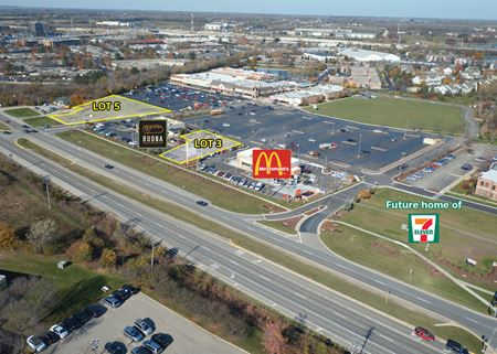 High Visibility Pad Sites For Sale or Ground Lease - Hoffman Estates