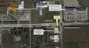 Pearland Hard Corner Pad for Sale/Lease