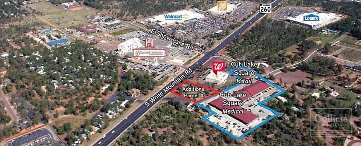 Medical Office-Retail Center for Sale and Lease in Show Low AZ