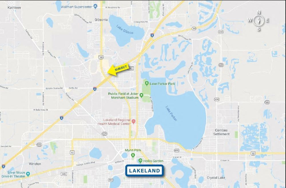 Lakeland Park Center Retail Sites
