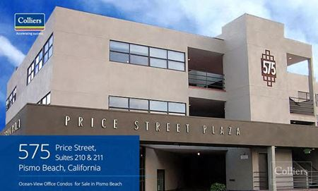 Two Ocean-View Office Condos for Sale in Pismo Beach - Pismo Beach