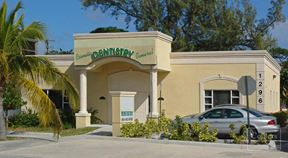 FOR LEASE 1,000 SF office/medical space with building signage on U.S 1, surrounded by several retail and dining amenities - Pompano Beach