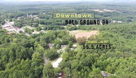Development Opportunity | Historic Downtown Ballground - Ball Ground