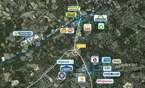 ±4.03 Acres for Sale at the Intersection of S Lake Drive & Nazareth Road