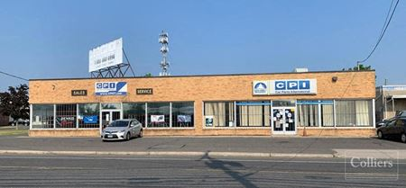 Industrial space for lease with showroom and office space - Hartford