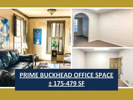 Prime Buckhead Office Space   ± 175-479 SF - Atlanta