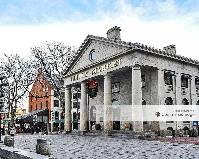 Faneuil Hall Marketplace - South Market, Quincy Market & North Market South Market