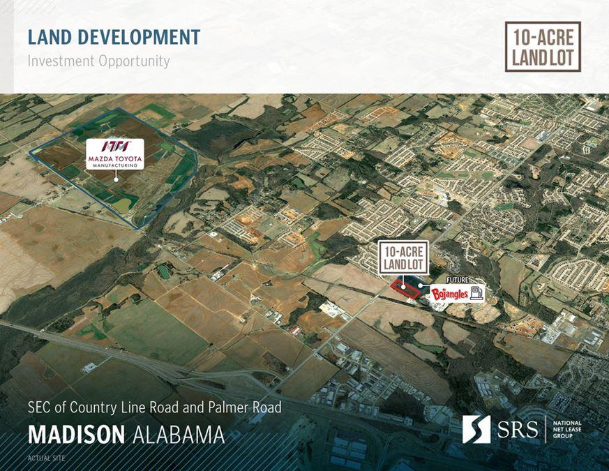 Madison AL - 10-Acre Land Lot
