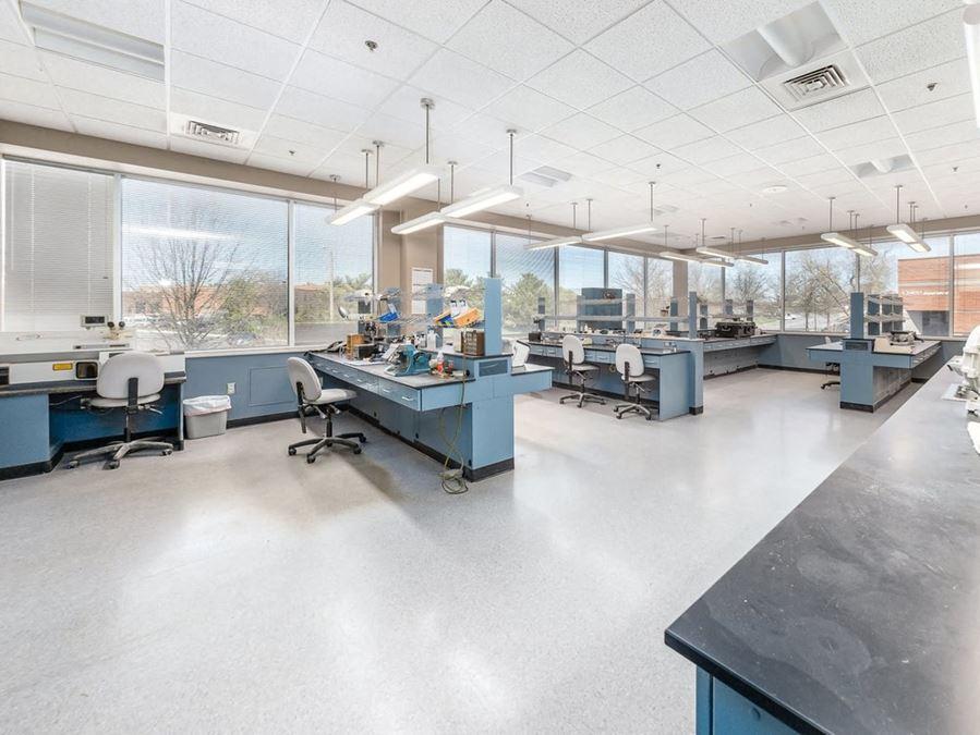 Ground Level End Unit Condo w/ Lab Space