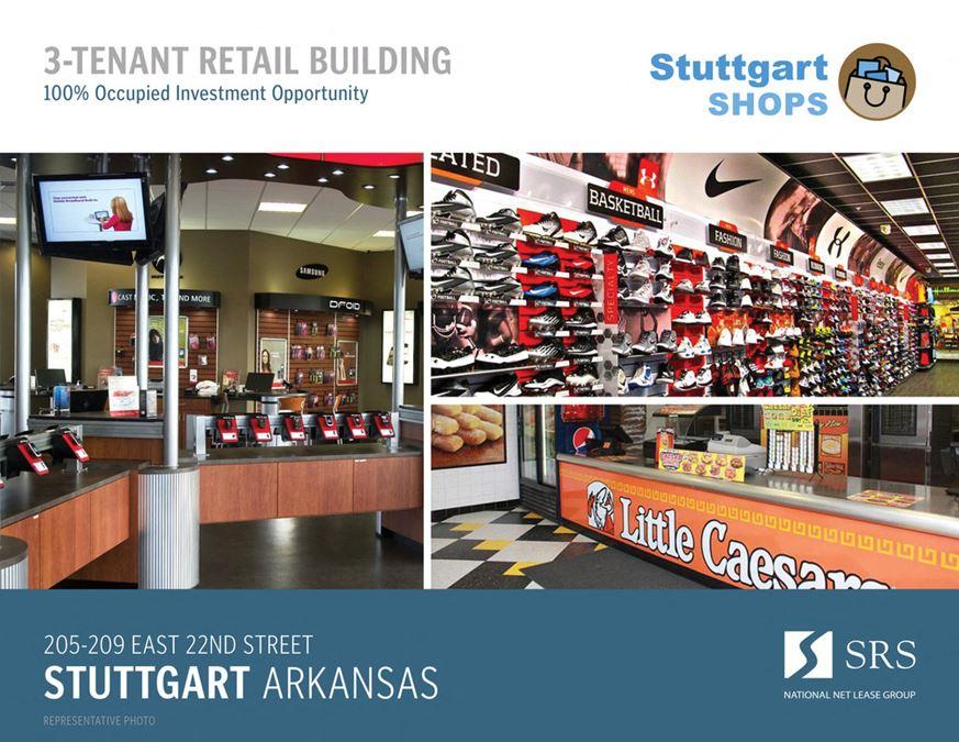 Stuttgart, AR - Stuttgart Shops