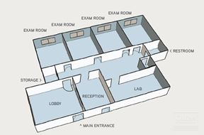 Medical / Dental Professional Office Space for Lease Adjacent to Regional Medical Center