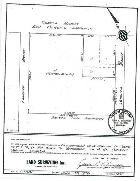 2.8 Acres Commercial Land in Mandeville - Mandeville
