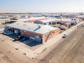 Freestanding ±15,500 SF Buildings + Land + Truck Repair Business - Fresno