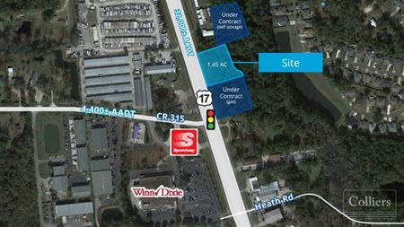 Fleming Island Parcel with Frontage on US 17 - Green Cove Springs