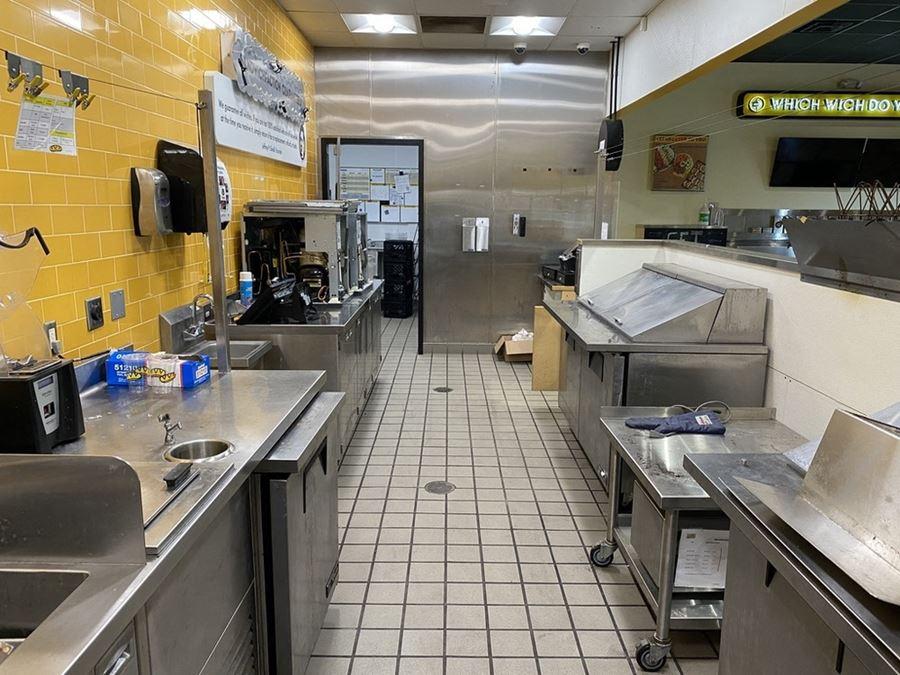 Drive Thru Restaurant Available