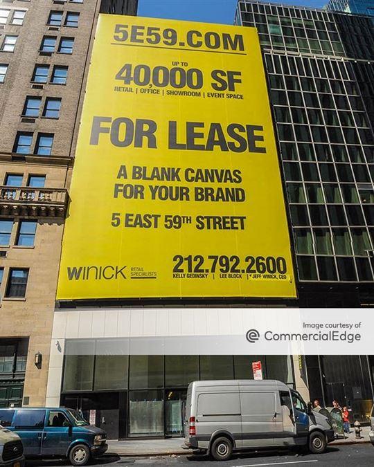 5 East 59th Street